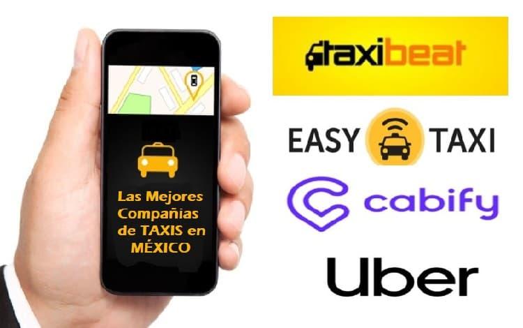 Las 5 mejores compañías de taxi en México
